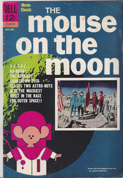 Dell's The Mouse on the                                         Moon: Movie Classic Issue # 1                                         1963 Oct / Dec