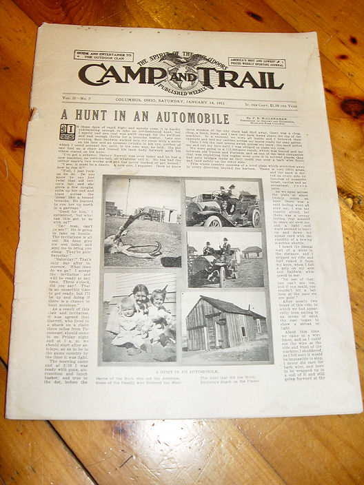 Camp And Trail The Spirit                                         Of The Out O'Doors Trapping                                         Victor Traps Jan 14, 1911 Vol II                                         No7