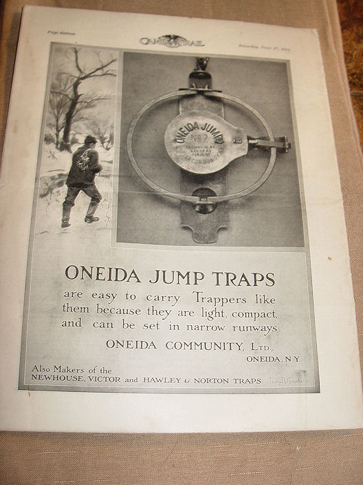 Camp And Trail The Spirit                                         Of The Out O'Doors Trapping                                         Victor Traps June 17, 1911 Vol                                         II No29