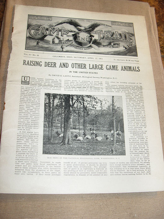 Camp And Trail The Spirit                                         Of The Out O'Doors Trapping                                         Victor Traps April 15, 1911 Vol                                         II No20