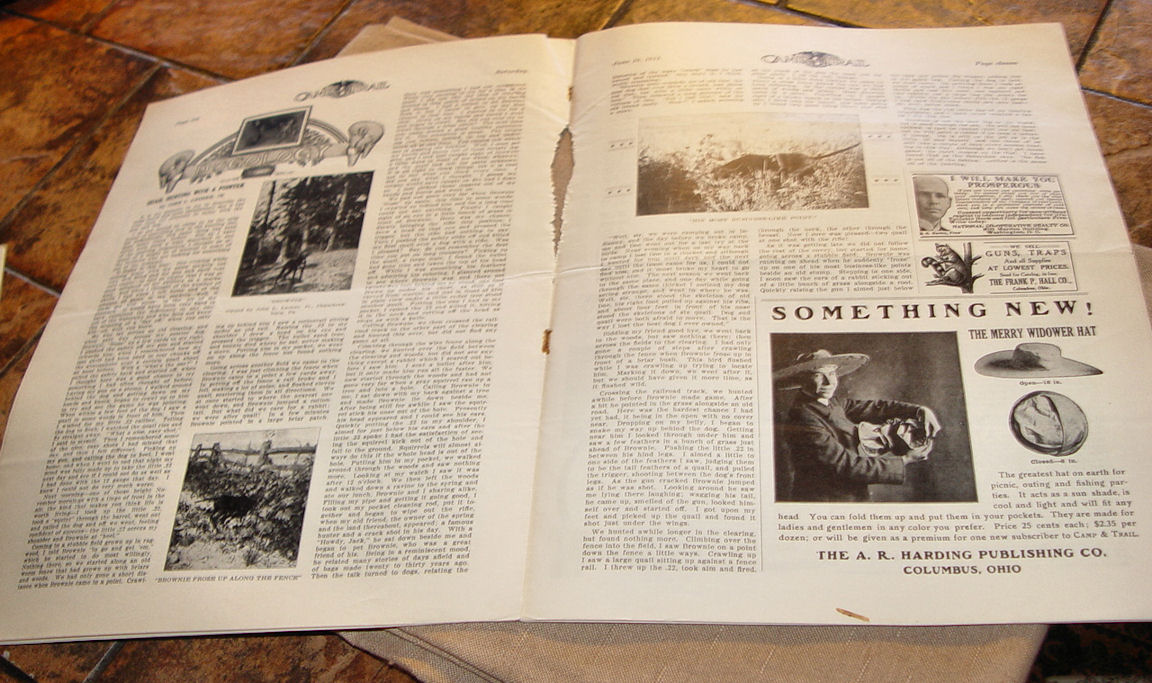Camp And Trail The Spirit                                         Of The Out O'Doors Trapping                                         Victor Traps June 10, 1911 Vol                                         II No28