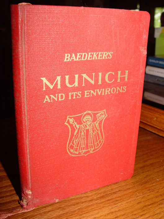 Baedeker's Munich and its                                         Environs Handbook for Travelers,                                         McMillon Co. 1956