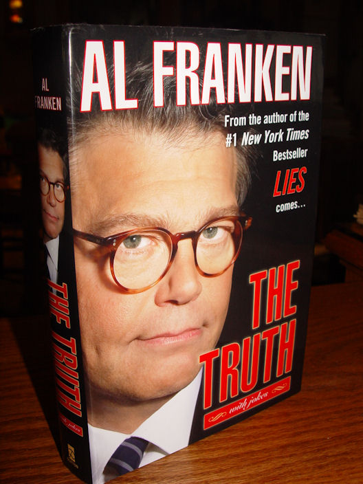 The Truth (with                                         jokes) (Hardcover) by Al Franken                                         2005