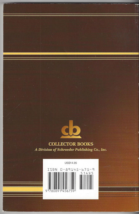 Collector's Guide to                                         Rockingham: The Enduring Wars                                         Identification & Values by                                         Brewer, Mary 1996