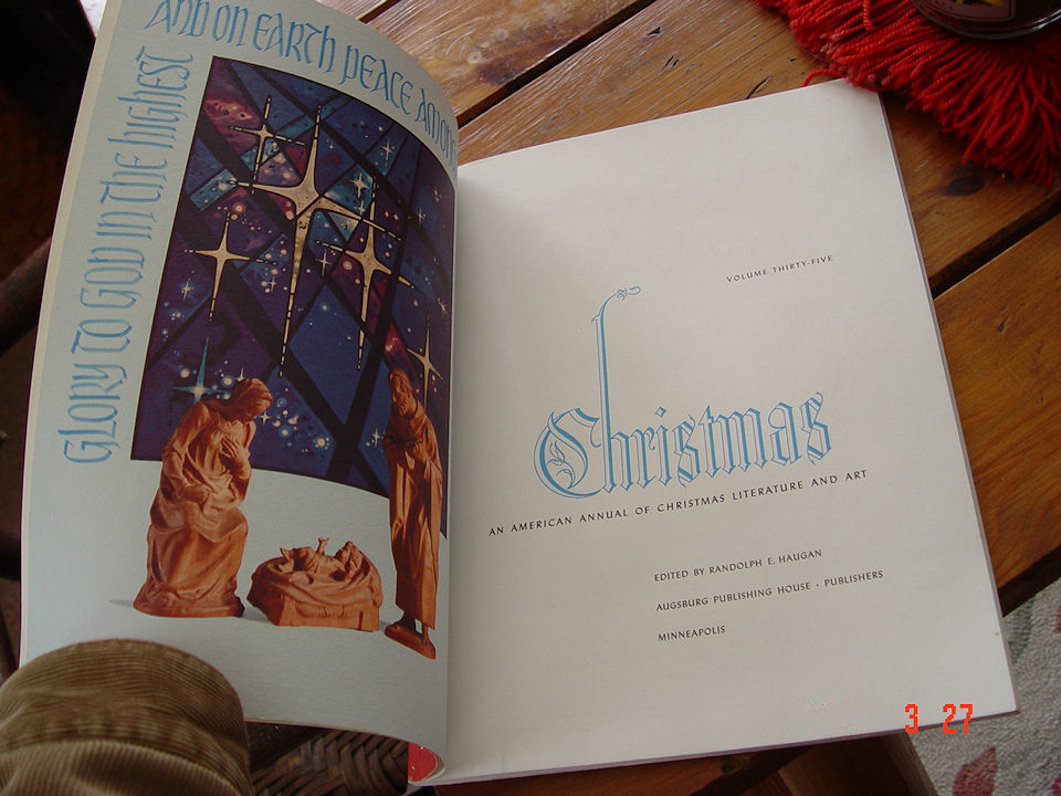 The Annual of Christmas                                         Literature and Art Volume 35 -                                         1965