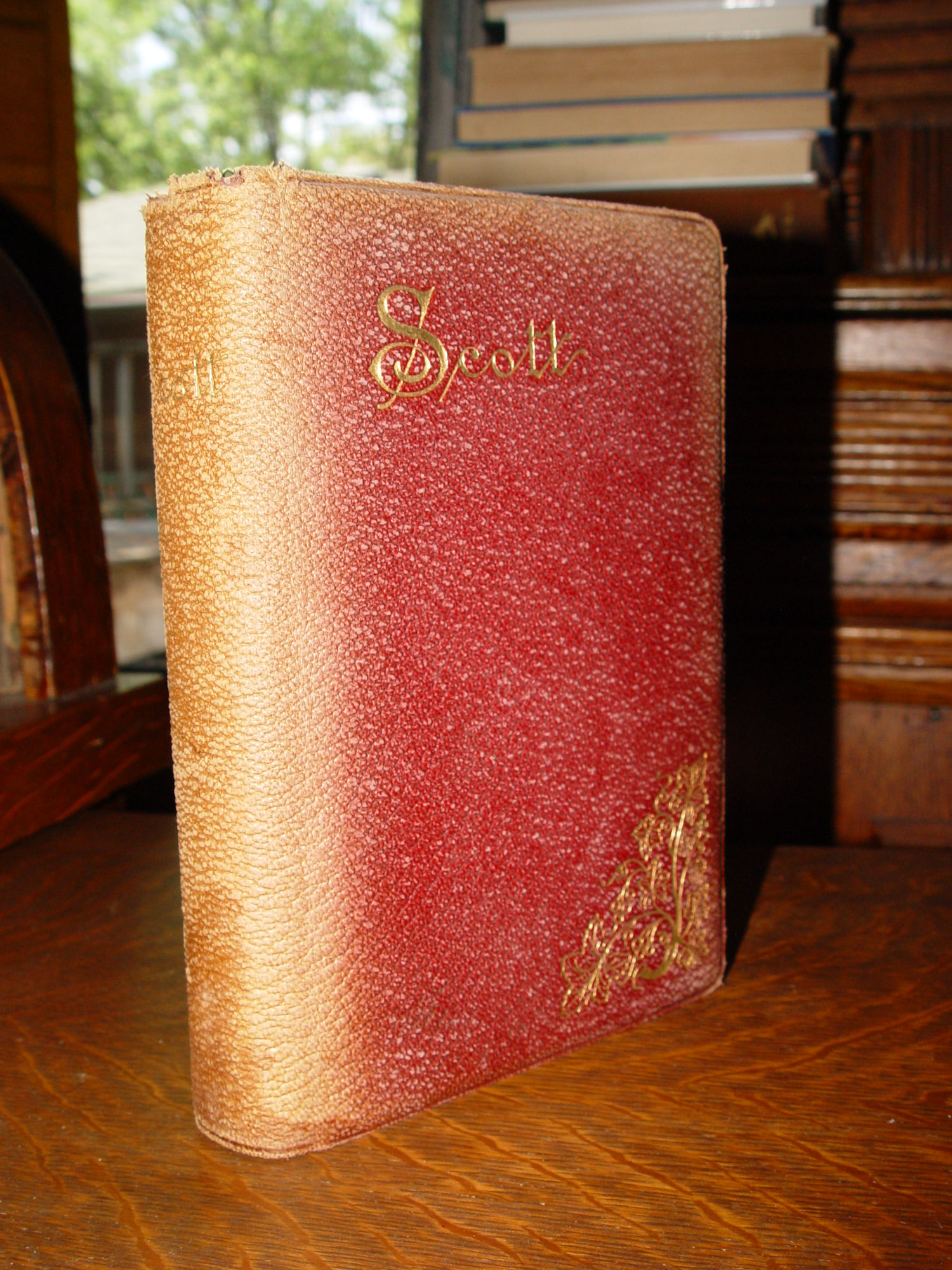 THE POETICAL WORKS OF SIR                                         WALTER SCOTT Walter Scott, intro                                         by Charles Eliot Norton                                         Published by Thomas Y. Crowell                                         and Co., New York 1894
