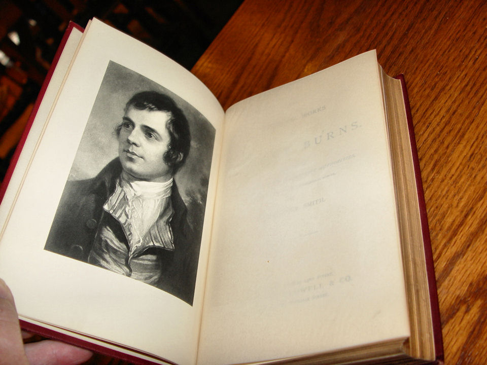 Burns's Poems; The Complete                                         Works of Robert Burns. Crowell                                         and Company, Imperial Edition                                         (cloth), 1892-1903