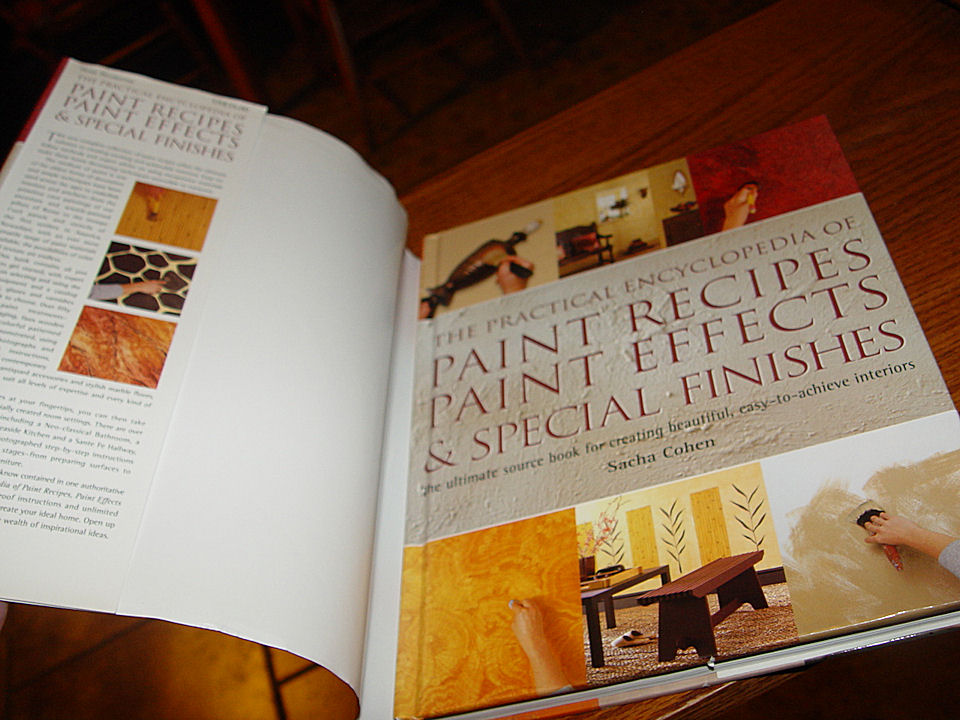 Paint Recipes, Paint                                         Effects & Special Finishes:                                         The Ultimate Source Book for                                         Creating Beautiful,                                         Easy-to-Achieve Interiors                                         Hardcover – 1999