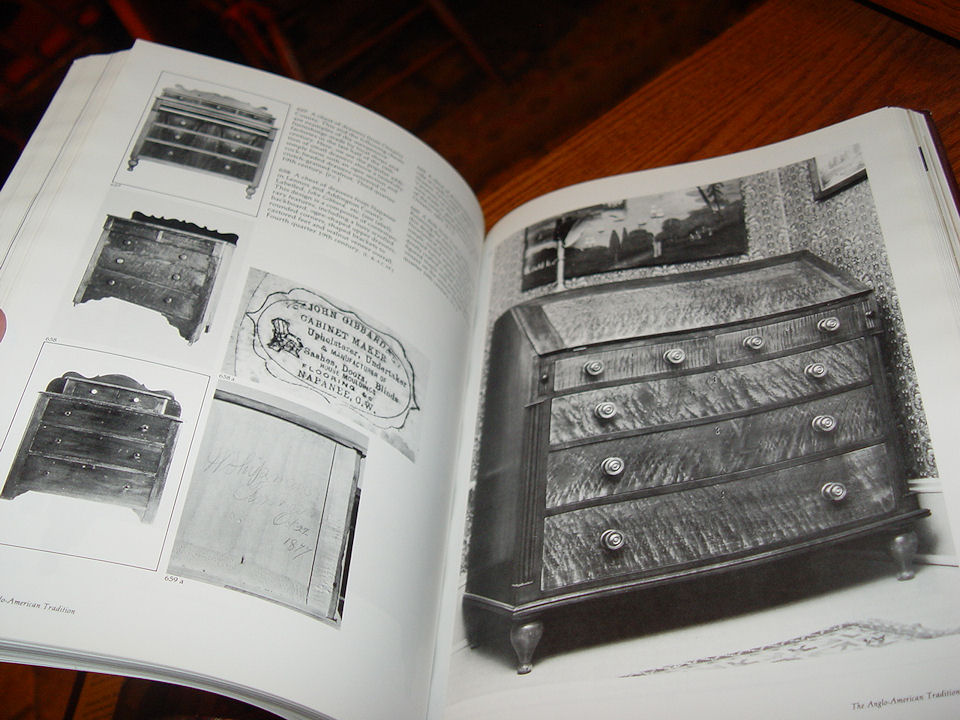 The Heritage of Upper                                         Canadian Furniture: Jan 1, 1984                                         by Howard Pain and William                                         Kilbourn