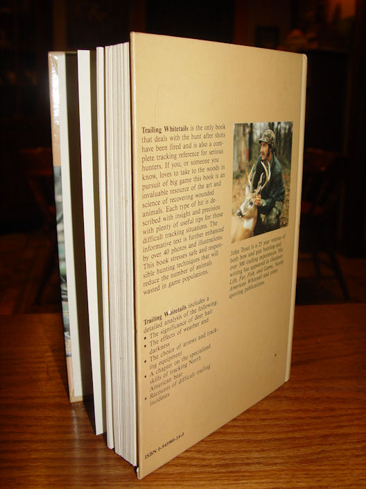 Trailing Whitetails                                         Paperback – 1989 by John Trout                                         Jr.