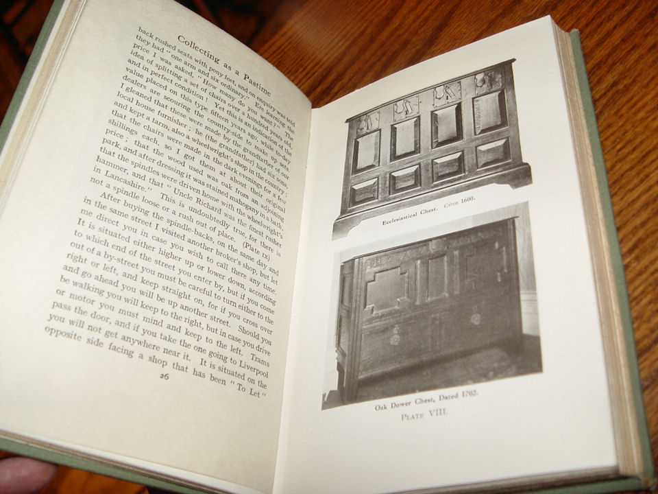 Collecting As a Pastime by                                         Charles Rowed, Publisher:                                         Cassell and Company; First                                         Edition edition (1920)