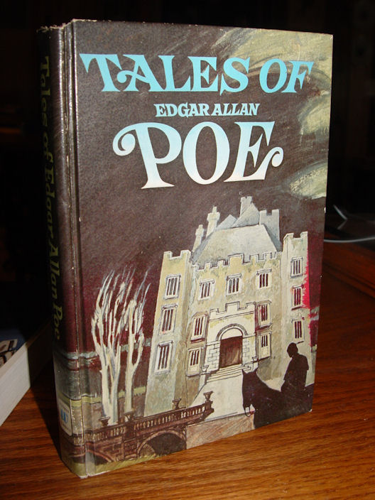 "1972 Whitman Book,                                         ""Tales of Edgar Allan                                         Poe"" contains ""Eleven                                         Bizarre Stores From the Master                                         Teller of Tales"", and is                                         illustrated by Jerry E.                                         Johnson."