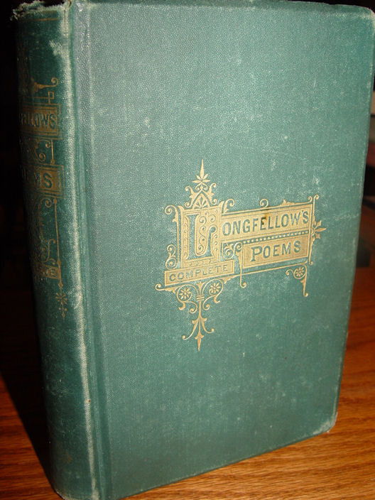 Longfellow's Complete                                         Poems, Household Edition,                                         Boston: James Osgood and                                         Company, Late Ticknor and Fields                                         1875