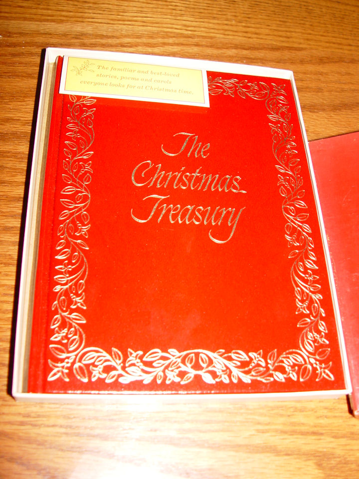 The Christmas treasury,                                         Gordon Brown ; Published by C.                                         R. Gibson Co, 1969