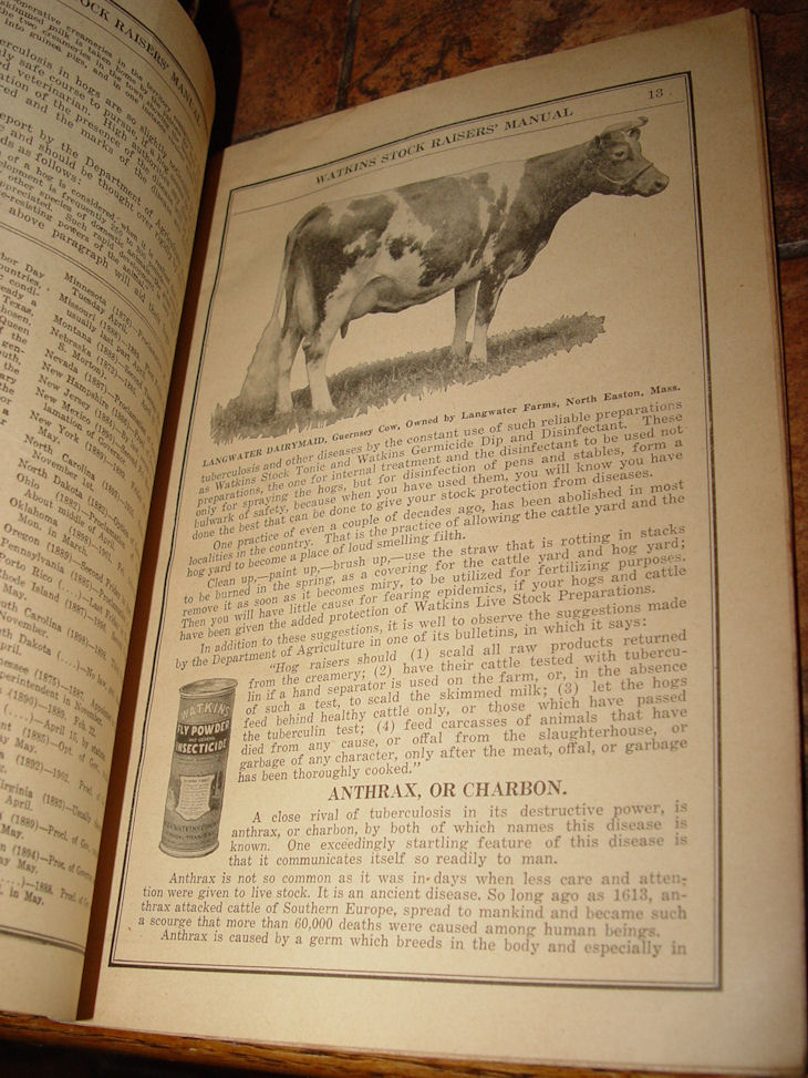 Watkins Stock Raisers                                         Manuel: A Manual for the                                         guidance of Stockraisers                                         Breeders & Farmers Paperback                                         – 1914 / 1920