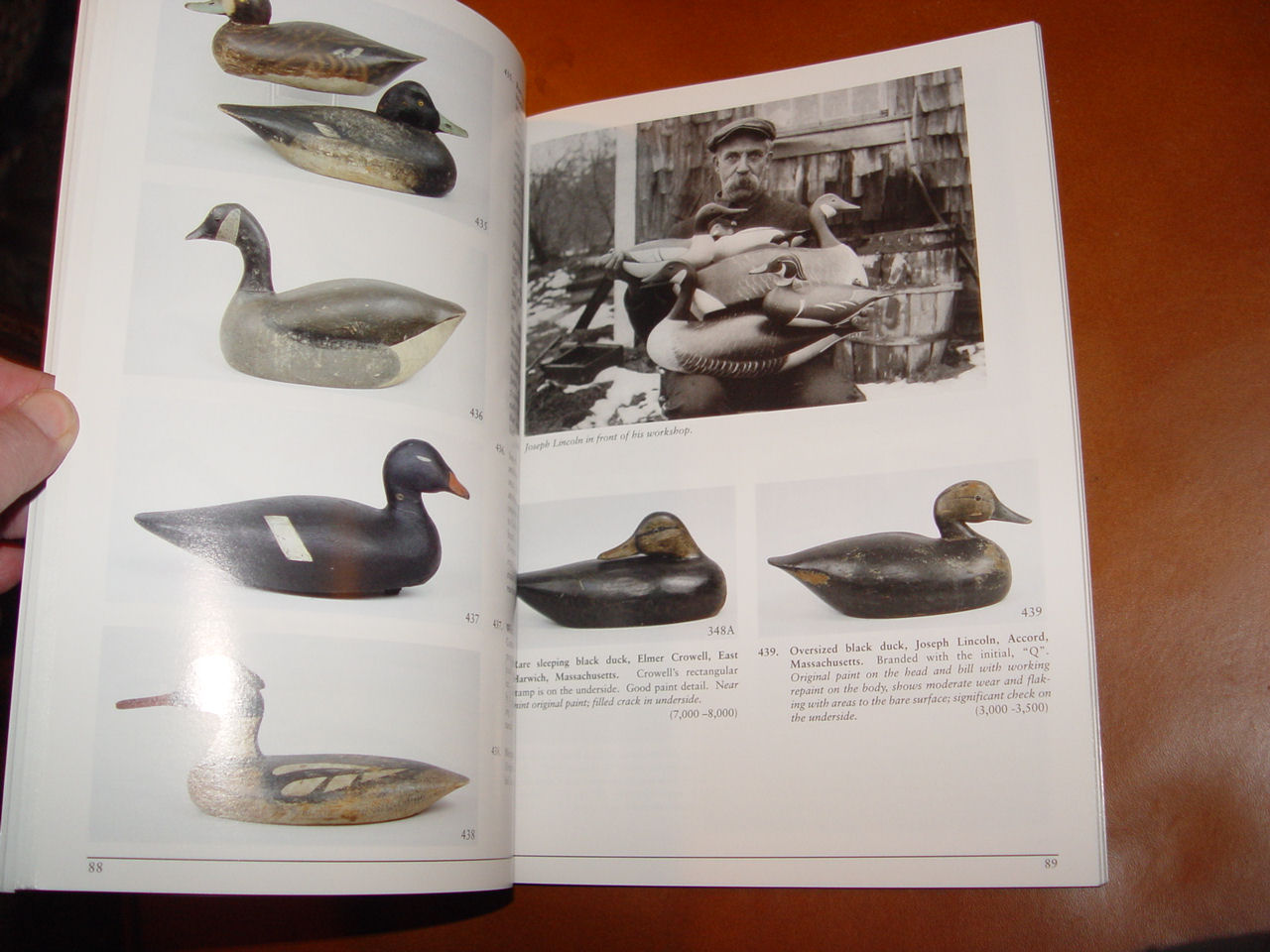 GUYETTE AND SCHMIDT                                         NORTH AMERICAN DECOYS AT AUCTION                                         - JULY 30 & 31, 2005