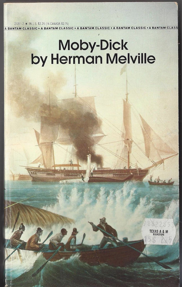 Moby-Dick by Helman                                     Melville Bantam Classic, 1986