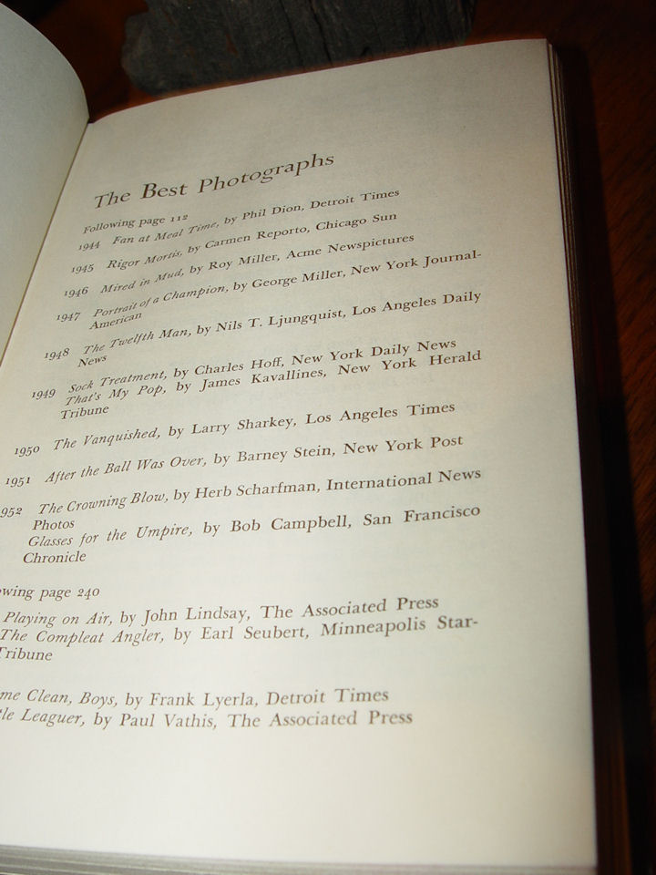 Best of the Best                                         Sports Stories Edited by Marsh                                         and Ehre ~ E.P. Dutton 1964