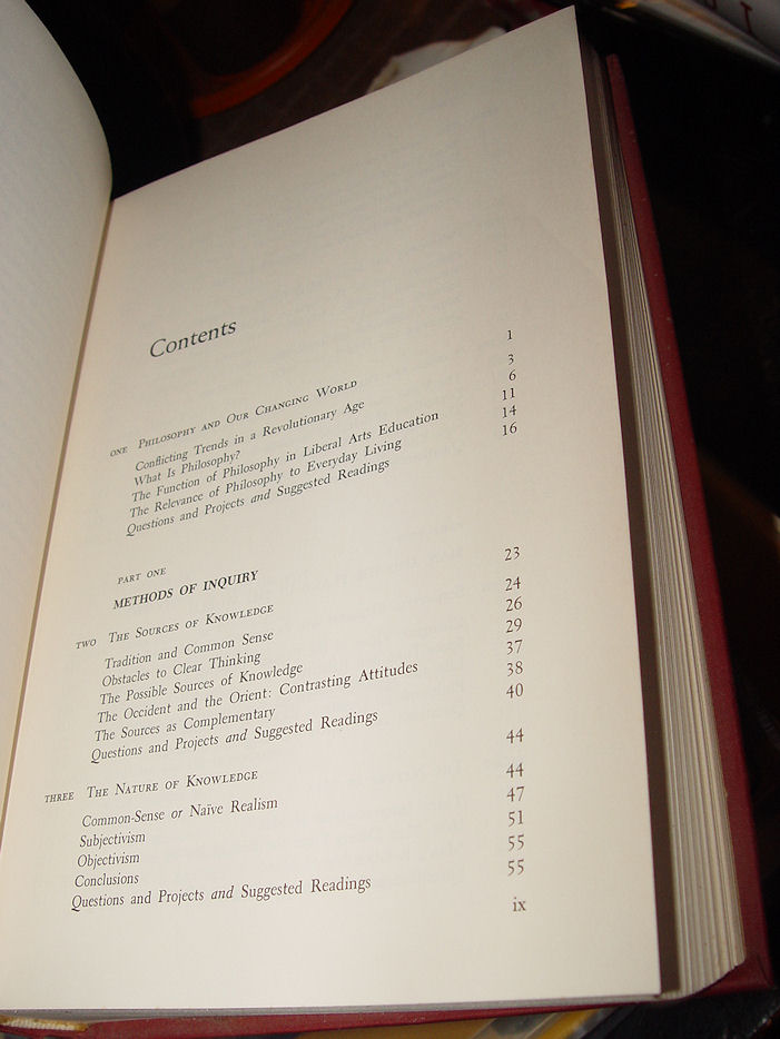 Living Issues in                                         Philosophy, 1970 5th Edition by                                         Harold Titus